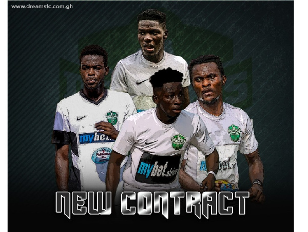 Four Dreams FC players sign new contract extension