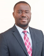 USAID JSSA Monitoring and Evaluation specialist, Kombian Samuel Fant