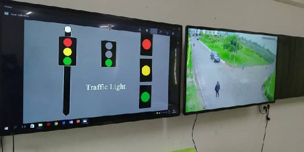 KTU develops traffic lights with cameras to combat insecurity on campus