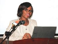Dr Kezia Malm, Deputy Programmes Manager, National Malaria Control Programme