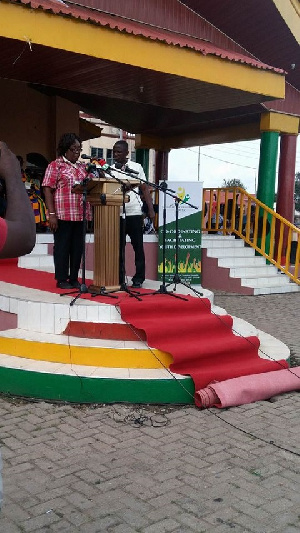 The registration took place at the Jubilee Park in Kumasi
