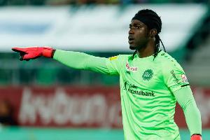 Ghana goalkeeper Lawrence Ati-Zigi