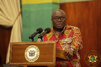President Akufo-Addo has announced a reshuffle of his government.