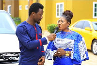 """The """"Osoro Ne Me Fie"""" singer said her husband did not disgrace her during the church service."""