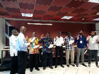 The new executives of the Ghana Cricket Association