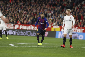 Boateng made his Barcelona debut on Wednesday night