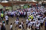 Massive turnout at NPP's Asawaase walk