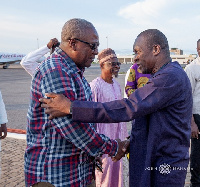 Alban Bagbin claims he is in talks with all the flagbearer aspirants except John Mahama