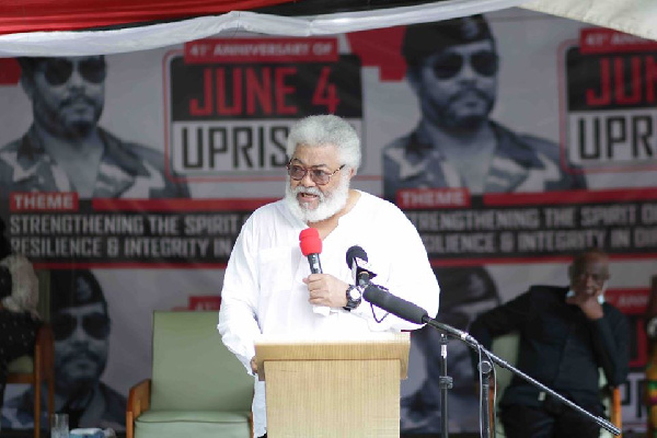 Ghanaians didn't want multiparty democracy – Rawlings