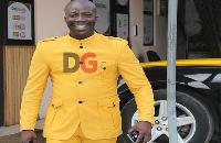 Founder of the Heavens Gate Ministries, Rev Nicholas Osei, a.k.a Kumchacha