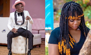 Dancehall musician, Shatta Wale and ex-girlfriend Michy