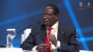 Dr Kofi Konadu Apraku, the Commissioner, Macroeconomic Policy and Economic Research
