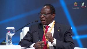 Dr Kofi Konadu Apraku, the Commissioner, Macroeconomic Policy and Economic Research