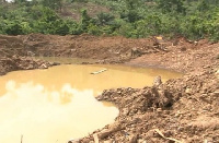 The  40-year-old drowned in a galamsey pit at Bogyawe