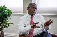 Businessman and Africa's richest man, Aliko Dangote