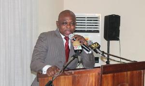 The Deputy Minister of the Interior, James Agalga