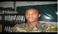 Late Major Maxwell Adam Mahama