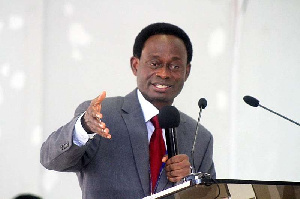 Chairman of the Board of Trustees for the National Cathedral Project, Apostle Prof. Opoku Onyinah