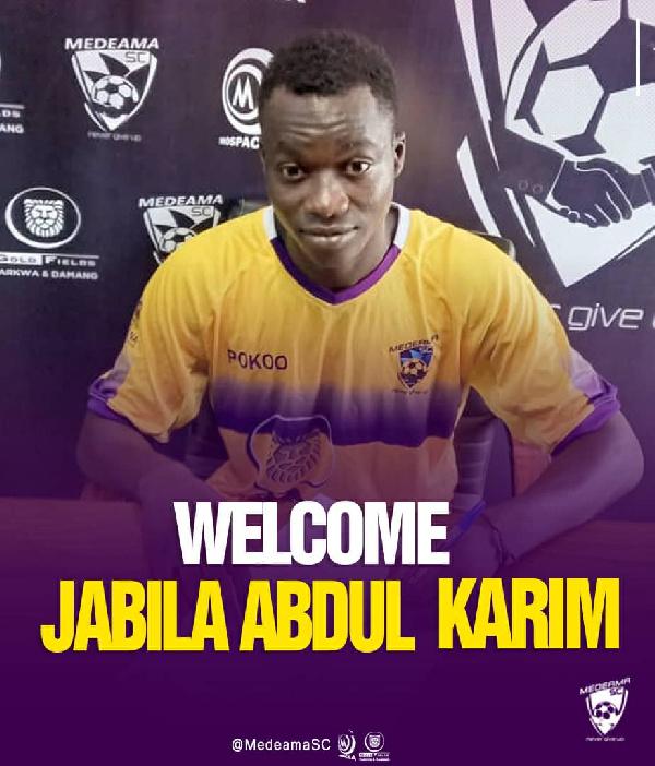 Abdul Karim Jabila joined Medeama on a free transfer