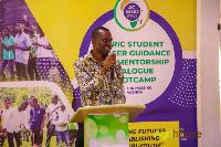 Mark Segbefia, Business Development Manager of OCP Africa Ghana.