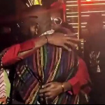 Laycon and Davido were seen partying after the show
