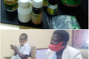 Two arrested for repackaging drugs