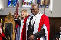 Prez Mahama gets honorary degree of doctor of law