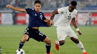 The Black Stars defeated World Cup-bound Japan in an international friendly to 2-0