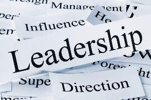 The author says leadership is meaning the mandate and the promises that go with it