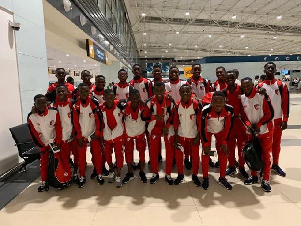 The WAFA U-16 team
