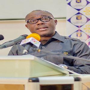 Head of European Studies at the University of Ghana, Professor Ransford Gyampo