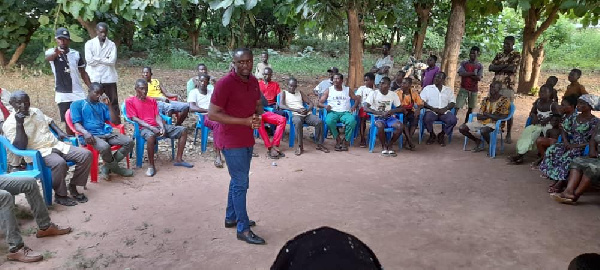 Over 20 NPP members defect to NDC in Salaga 3