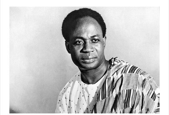 Dr Kwame Nkrumah is the first President of Ghana