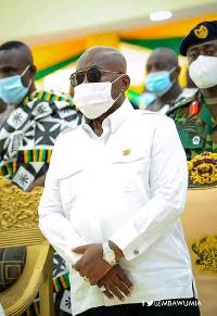 President of Ghana , Nana Akufo Addo