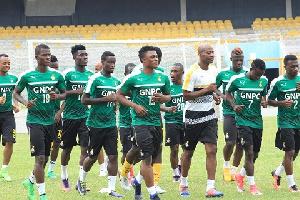 Black Stars Train Kumasi