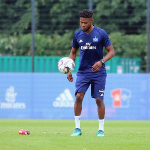German-born Ghanaian midfielder Moritz Kwarteng