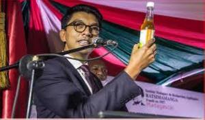 Madagascan President, Andry Rajoelina