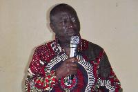 Director General  of Ghana Maritime Authority, Kwame Owusu