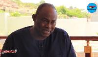 Dr. Ekwow Spio-Garbrah, Presidential hopeful and Former Minister of Trade and Industry