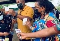 Former President John Dramani Mahama and Wife
