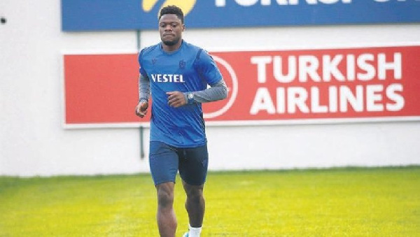 Caleb Ekuban misses Trabzonspor draw with Rizespor due to muscle injury