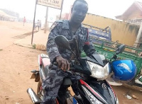 Joseph Yankey, aged 36 years, served at the Akim Oda Police Unit before his untimely death