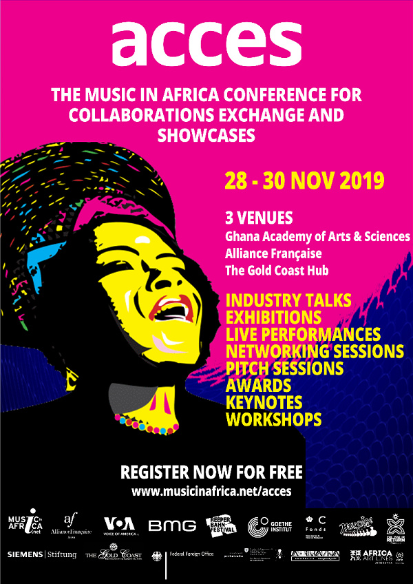 ACCES music festival is coming to Accra