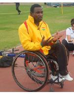 Para-athlete, Raphael Botsyo Nkegbe