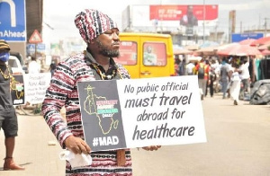 Blakk Rasta at his #MAD campaign