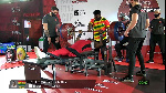 Ghana para-weightlifting team are training in Manchester