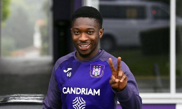 Belgian midfielder, Francis Amuzu