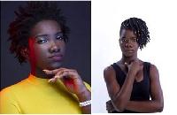 Ebony Reigns (L), Dhat Gyal (R)