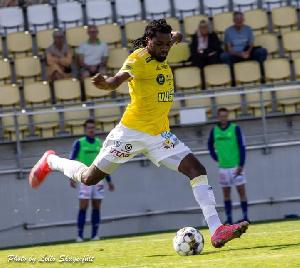 Ghanaian striker, Kwame Kizito