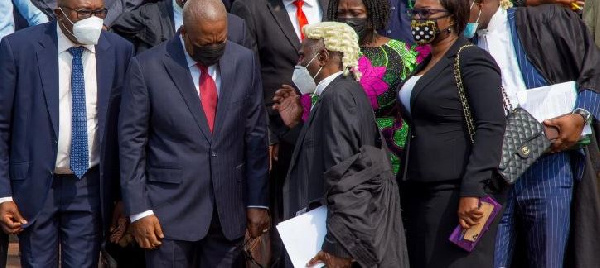 Mahama's lawyers file for review of Supreme Court's dismissal of their interrogatories